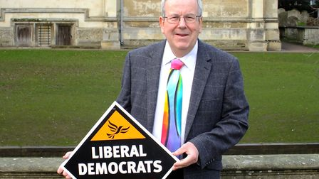 Keith Hoskins is running as the Lib Dem candidate for Hitchin and Highbury ward. Picture: Liberal De