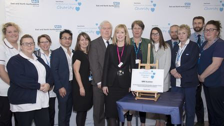 East and North Hertfordshire Hospitals' Charity have funded a new MRI scanner for Lister Hospital. P