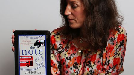 """Author Zoe Folbigg has been receiving praise for her book """"The Note"""" from around the world after app"""