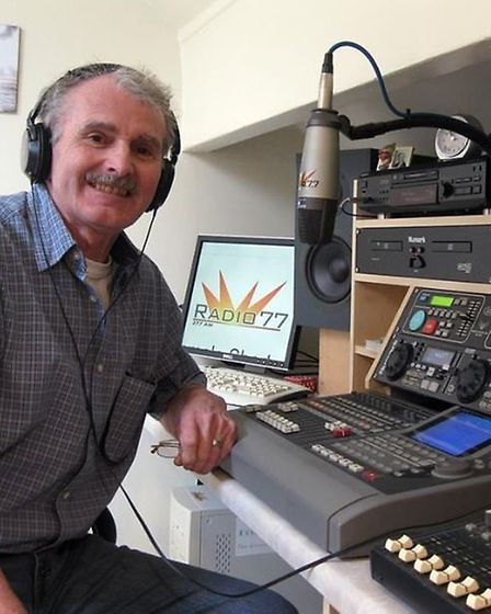 DJ Deke Duncan has been able to realise his lifetime ambition of broadcasting to Stevenage.