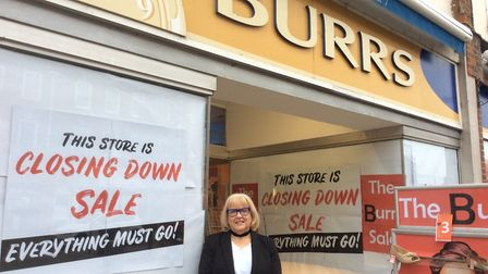 Jean Burr has decided to close the shoe store, Picture: Burrs Shoe Store