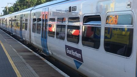 Great Northern services have been delayed due to an earlier fault at Hertford. Picture: Nick Gill