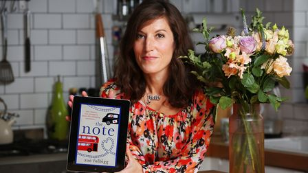 Author Zoe Folbigg has won Amazon Prime's most read book of 2018 for The Note. Picture: Danny Loo