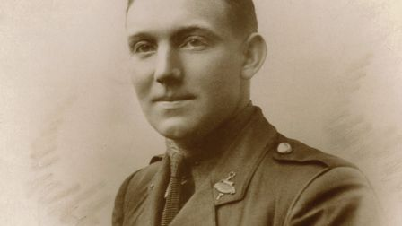 Second Lieutenant Frank Young. Picture: Herts at War