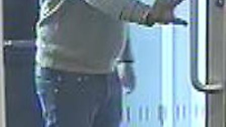 Police are hoping the man pictured could help with their investigation into a theft in Letchworth.