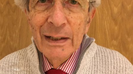 Terry Wolfe from the Stevenage Liberal Synagogue has been discussing Holocaust Memorial Day. Picture