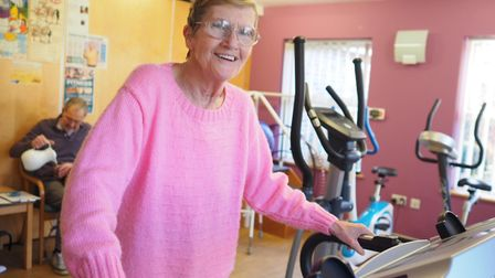 An occupational therapist at Garden House Hospice Care says being more active help you feel more upl