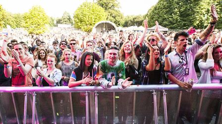 Crowds at Rhythms of the World. Picture: Bellanova Photography