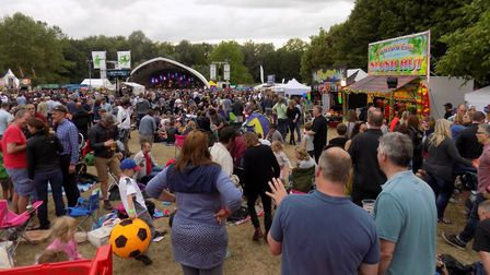 Rhythms of the World festival in 2016. Picture: John Francis
