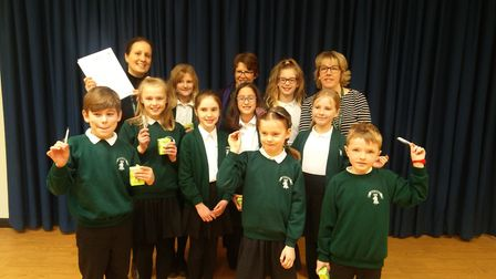 Children a Hartsfield JMI in Letchworth have written to their milk carton providers and asked for an