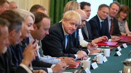 As Boris Johnson plans to meet his cabinet, it has been claimed that the government's legal argument