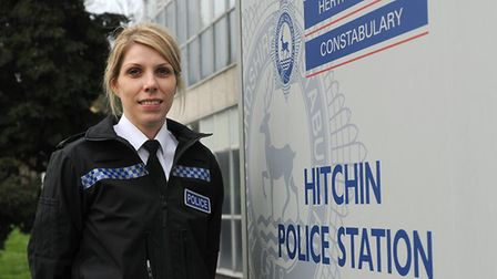 Sally Phillips is the new chief inspector for North Herts. Picture: Herts police