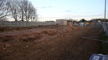 Demolition of the old North stand at Stevenage FC is completed. Picture: Danny Loo