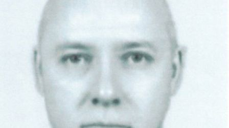 A facial reconstruction of one of the offenders believed to have been involved in a burglary in Hitc