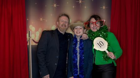 Mark, Ollie and Justine Sharp organised the event in memory of Mark's mum Hilary, who sadly passed a