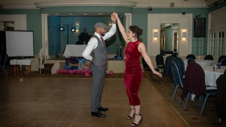 Saturday's event saw competitors hit the dance floor in aid of the hospice. Picture: Teresa Whyte