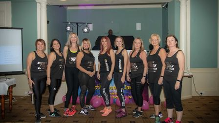 Saturday's event saw competitors hit the dance floor in aid of the hospice. Picture: Teresa Whyte. P