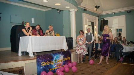 A family from Stevenage hosted a Strictly Come Dancing event in aid of Garden House Hospice Care. Pi