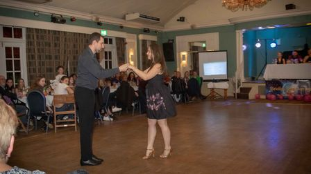 Saturday's event saw competitors hit the dance floor in aid of the hospice. Picture: Teresa Whyte.