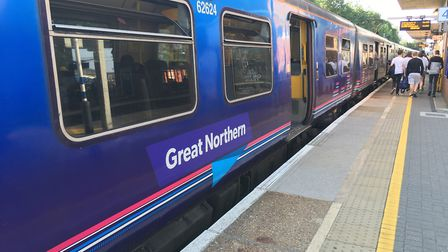 Delays between Stevenage and Welwyn Garden City are expected until 10am. Picture: Nick Gill