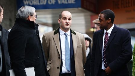 MP Jake Berry, Minister for the Northern Powerhouse and Local Growth, is shown around Churchgate and
