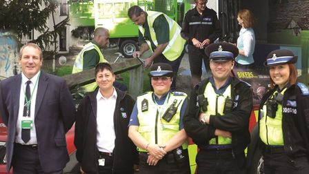 The North Herts Community Safety Partnership wants to know about any concerns residents have on safe