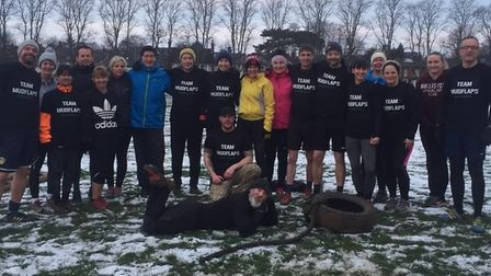A group of fifty have volunteered to take on Garden House Hospice Care's Muddy Mayhem challenge in K