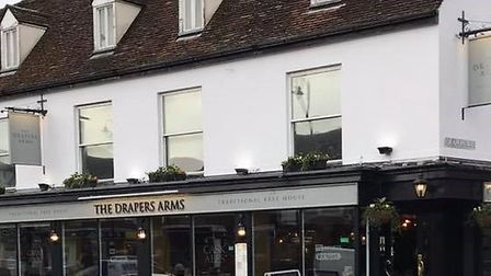 The Drapers Arms in Stevenage's High Street. Picture: The Drapers Arms