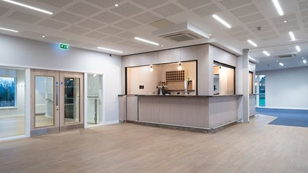 The new facilities at Lucas Lane Sports Club. Picture: Morgan Sindall