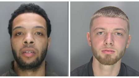 Saachicco Williamson and Jack McGrath have been jailed for possession of half a kilo of cocaine wort