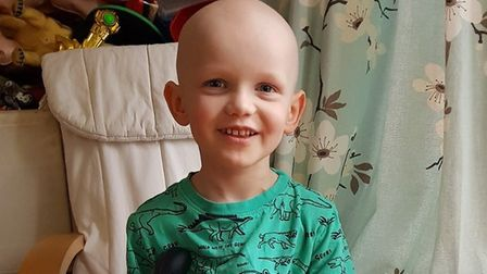 Seraph Thomas was diagnosed with High Risk Neuroblastoma two years ago. Picture: Cass Thomas