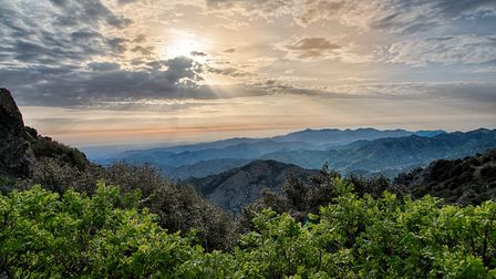 The Troodos Mountains in Cyprus. Picture: Romos Kotsonis