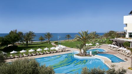 The Athena Royal Beach Hotel in Paphos, Cyprus. Picture: August