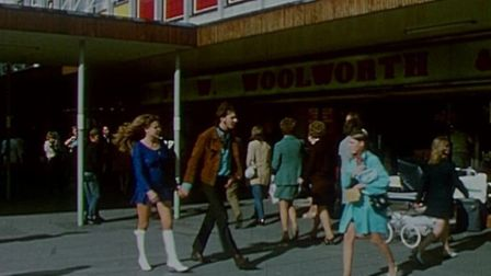 Stevenage New Town in 1971. Picture: East Anglian Film Archive.
