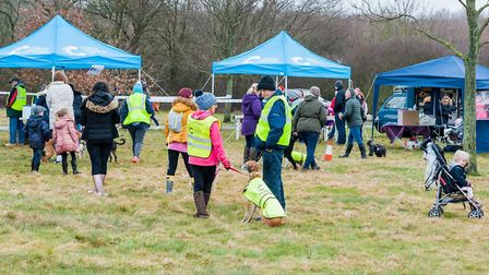 Woof Walkies will take place in Stevenage's Fairlands Valley Park. Picture: Katy Prutton.