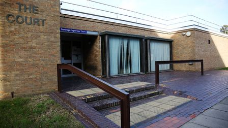 Lee Falanga appeared at Stevenage Magistrates' Court earlier this month. Picture: DANNY LOO