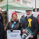 Cross-party unity against the cuts to the library services by Essex County Council