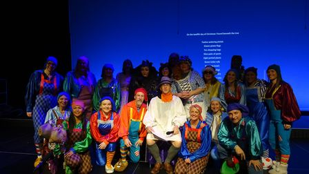 Snow White cast. Picture: Phase