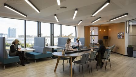 King's Court in Stevenage offers a range of collaborative and private work areas with flexible lease