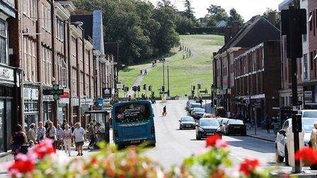 Hermitage Road leads onto the popular picnic spot of Windmill Hill. Picture: Danny Loo