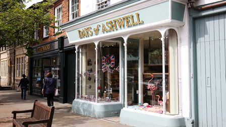 Days of Ashwell is a popular bakery on the High Street. Picture: DANNY LOO