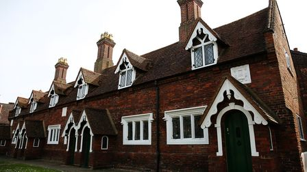 The Almshouses are an example of the historic architecture found in Baldock. Picture: Danny Loo