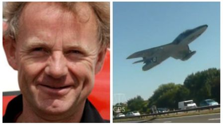 Andy Hill has been cleared of manslaughter after his Hawker Hunter jet crashed, killing 11 people at