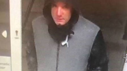 Officers believe the man pictured may have information that could help with the investigation. Pictu