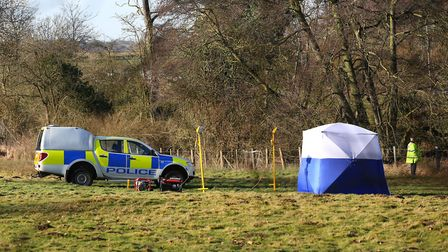 Police confirmed the body was indenfied as that of William Taylor. Picture: DANNY LOO