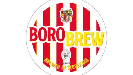 Boro Brew is available today at the Lamex. Picture: Stevenage FC