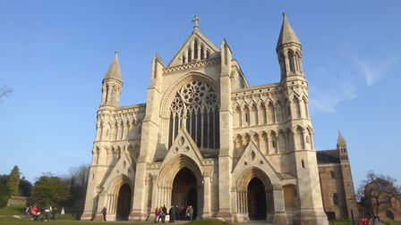 St Albans Cathedral. Picture: Alan Davies.