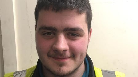 Callum Hussey has been nominated for Arriva's driver of the year award. Picture: Arriva