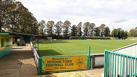 Hitchin Town, who play at Top Field, have said the money made from the advert will be donated to cha