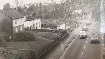 Where the British Legion Adult School would have stood, taken in 1990. Picture: Wymondley Scrapbook